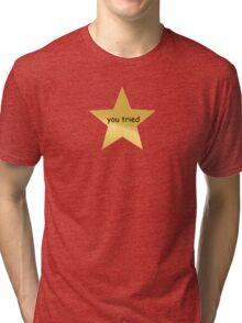 Gold Star Tri-blend T-Shirt