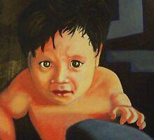 Baby Blue by Rhinovangogh
