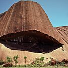 1992 Mutitjula Uluru by Fred Mitchell
