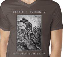 Bertie: 1 Humans: 0 Perth, WA Mens V-Neck T-Shirt