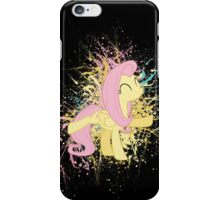 Fluttershy Paint Splatter iPhone Case/Skin