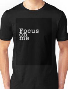 Focus on Me_Black T-Shirt
