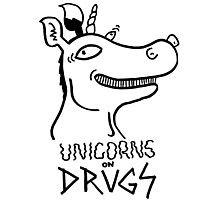 Unicorns on drugs Photographic Print