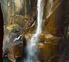 Vernal Falls, Yosemite NP by William Clair