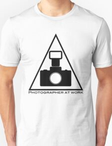 Photographer at work T-Shirt