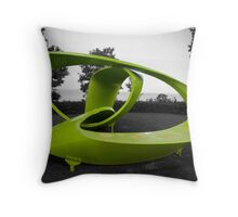 Green Pavilion- 'Learning From Nature' Throw Pillow