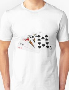Poker Hands - Two Pair - Ace, King T-Shirt