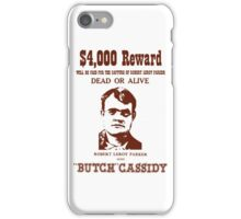 Butch Cassidy iPhone Case/Skin