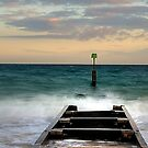 Southbourne Groyne by Mark Waugh