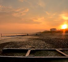 Southbourne Fishing by Mark Waugh