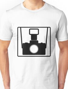 Camera SLR Flash with straps T-Shirt