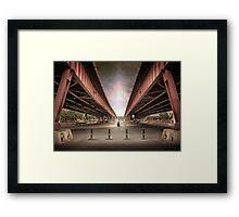 Steel city Framed Print