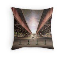 Steel city Throw Pillow