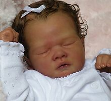 Kaelyn Reborn baby doll by Cassie Peek