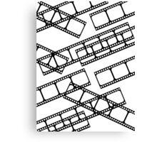 Film strip multiple Canvas Print