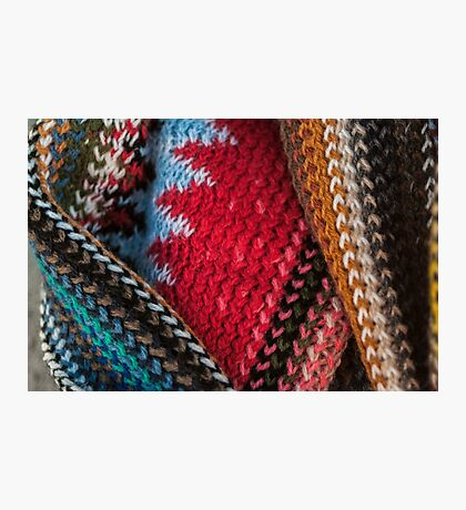 Knit Photographic Print