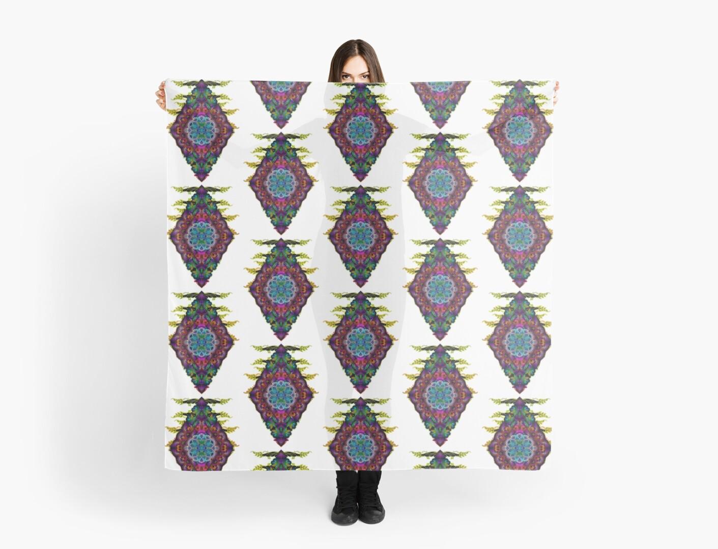 Fractal Mandala - Nature by webgrrl