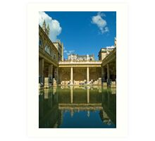 Roman Baths, Bath, England Art Print