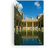 Roman Baths, Bath, England Canvas Print