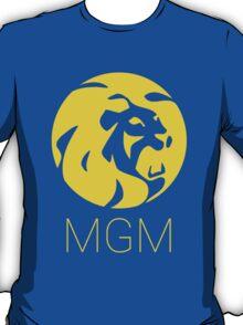 MGM 1970s Lions Head (colour) T-Shirt