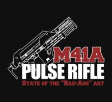 M41A Pulse Rifle State of the Badass Art by McPod