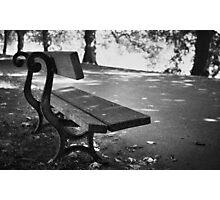 Lonley seat Photographic Print