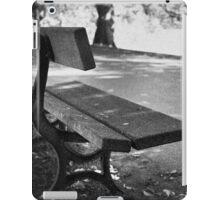 Lonley seat iPad Case/Skin