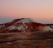 Painted Desert sunset. S.A. by Jeff Barnard