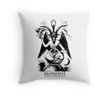 Baphomet - Knights Templar God Throw Pillow