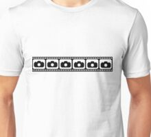 Film strip camera Unisex T-Shirt