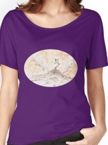 Surfin in the MIA (Middle Age) Women's Relaxed Fit T-Shirt