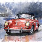 Porsche 356 B Roadster by Yuriy Shevchuk