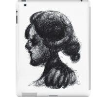 Ink Horned Fantasy Figure iPad Case/Skin