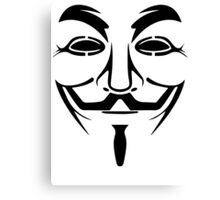 Anonymous - We Are Legion Canvas Print