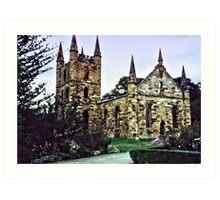 Port Arthur Church...HDR Art Print