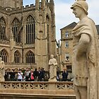 Looking to Bath Abbey by Erica Morse