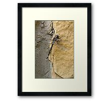 """""""The Wall #5"""" Framed Print"""