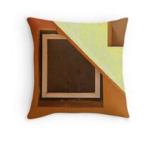 The window under the stairs Throw Pillow