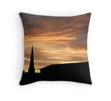 west end sunset Throw Pillow