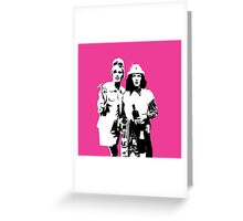 It's Ab Fab daaaaaarling Greeting Card