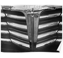 Chrome Grill 1948 Chevy Poster