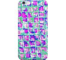 Vintage colorful pink abstract pattern iPhone Case/Skin