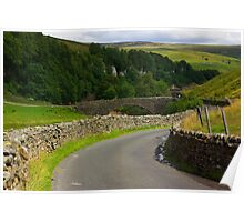 Keld Bridge Poster