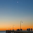 Sunset over Glenelg, South Australia by SusanAdey