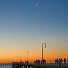Sunset over Glenelg, South Australia by SusanAdey
