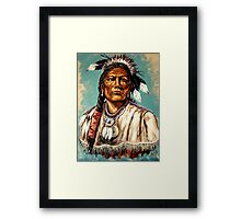 """Chairman Of The Board"" Framed Print"