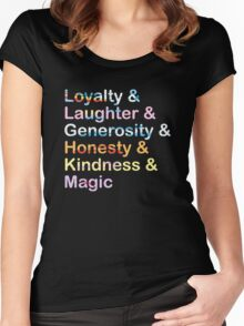 Elements of Harmony Women's Fitted Scoop T-Shirt
