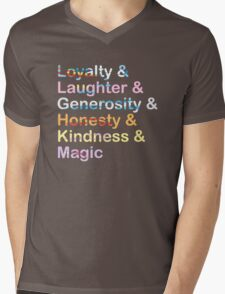 Elements of Harmony Mens V-Neck T-Shirt