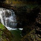Watkins Glen Falls  by Kendra Kantor