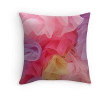Rainbow Tutus Throw Pillow